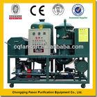 Large treatment capacity engine oil purification machine