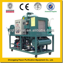 Large treatment capacity lube oil purification machine