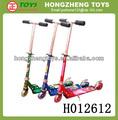 2014 novo produto, china atacado, kick scooter, venda quente todos alumínio kick scooter rodas transparentes passeio no brinquedo para crianças h012612