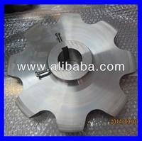 Stainless steel #304 large sprocket with set screws