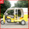 Alibaba Gold Supplier Passenger Tricycle For Adult With Double Seats And Video