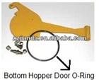 Putzmeister concrete pump hopper door