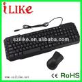& ratón combo teclado de la computadora para kbm103