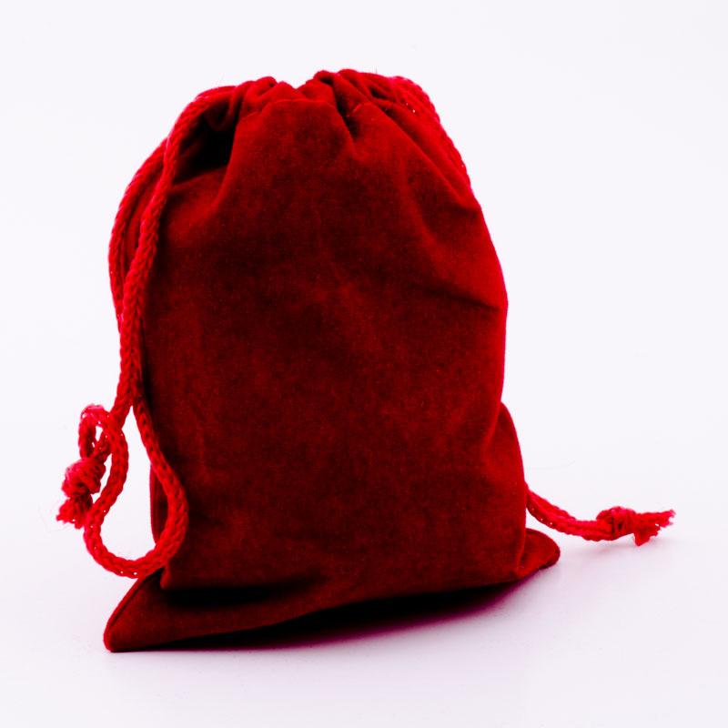 small drawstring velvet gift bag