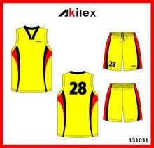 2014 new design high quality basketball uniform design