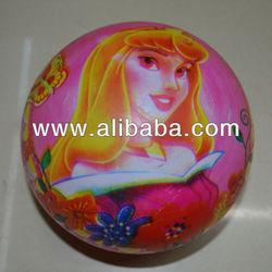 Outdoor handle hoppr balls /handle ball factory / plastic friendly pvs balls