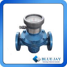 Digital Diesel Fuel Digital oval gear flow meter display instantaneous and Total flow rate