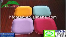 Biodegradable plant fiber dishes bamboo fiber plates
