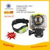 Manufacture OEM 1080p Waterproof HD digital video camera , wifi helmet camera