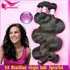 Natural Body Wave India Indigenous 100% Natural Black Color Virgin Hair Extension