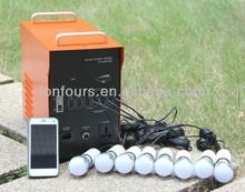 solar station portable solar energy for fan, tv and lighting
