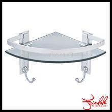 Bathroom accessories glass shelf for bathroom
