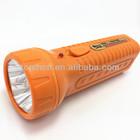 good quality high light long distance led rechargeable flashlight,plastic handheld flesh torch,cheap led torch light