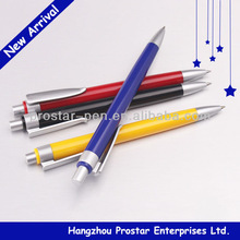 Solid colored ballpen, plastic ballpoint pen, cheap ballpen for logo printing
