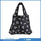 promotion polyester or nylon foldable shopping bag