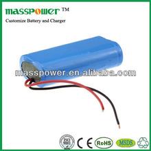 Quality and safety li-ion battery 7.4v 2500mah