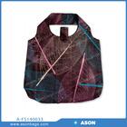 nylon foldable shopping bag with print