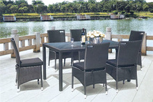 MD-6592 Modern baroque dining room furniture cebu rattan furniture