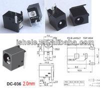 AC 5.5mm x 2.0mm DC Power Jack PORT Socket FOR Notebook Computer DC-03620PCS AC 5.5mm x 2.0mm DC Power Jack PORT Socket FOR Note