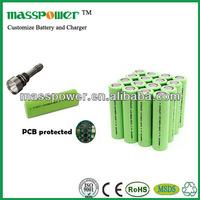 Cylindrical li-ion 7.4v 4000mah battery
