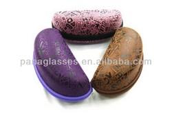 Designer hot-sale flip top eyeglass case