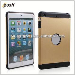 2014 new design for ipad mini case for ipad mini tpu pc combo case
