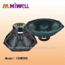 Edge Wound copper Voice Coil warm sound neodymium driver