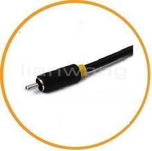 White AV+USB composite AV cable for laptop connect to HDTV