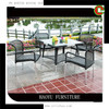 2013 new style wicker home furniture table and chairs