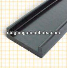 2014 China Popular Black PVC Profile /UPVC Extrusion Plastic Profiled Bar Channel Board