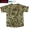 La moda japonesa clothingman traje militar/cómodo y durable de manga corta de camuflaje jsdf t camisa