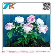 metal garden flower support