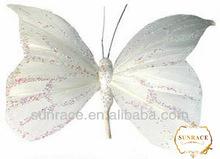 wholesale hair clip feather butterfly wings
