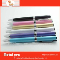 new 2014 item office colored desktop promotional metal ball pen