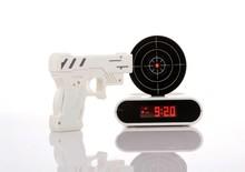 Infrared and Creative Digital Shooting Gun Alarm Clock