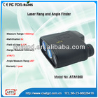 8*25 1500m laser range and height finder with angle laser measure