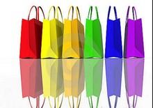 Amercian market popular Shopping bag and gift box