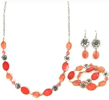 Coral Beads Necklace Jewelry Accessories 2014