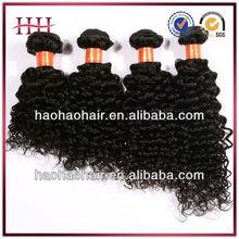 100% human hair afro kinky curly hair weave,hot sale hair