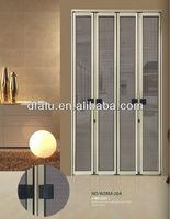 decorative aluminum screen doors,Aluminum frame pull push Anti Theft screen door