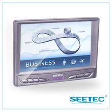 7 inch HD small lcd HDMI monitor VGA Car monitor with AV input