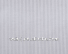 SATEEN STRIPED COTTON WHITE HOTEL BEDDING ROLL FABRIC