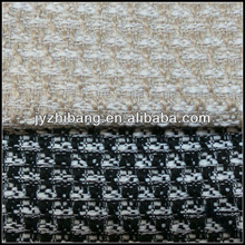 high-end fantasy wool blended fabric 92%polyester and 8%acrylic