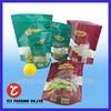OEM Plastic Bags Manufacturer full-color printing private plastic food bags window film manufacturing
