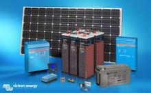 Diesel Fuel Saver Generator Solar PV Hybrid System Victron