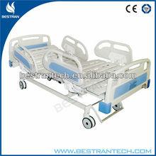 BT-AE101 3 Function 10-Part Bedboard Electric icu hospital bed Steel Frame Central Braking home medical equipment