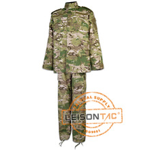 Military Uniform ACU adopting 100% cotton (treat with special technology) to avoid shrinking and with permanent press function