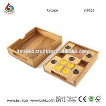 Escape wooden puzzles for children