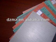 resistente agli oli non foglio di amianto in fibra con rete metallica reforcing