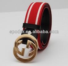 2014 Canvas Web Belts, Canvas Webbing Belt, Woven Canvas Belts unisex